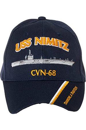 Artisan Owl Offiziell lizenzierte USS Nimitz CVN-68 bestickte Baseballkappe