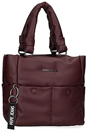 Pepe Jeans Pepe Jeans Bloat Handtasche Rot 27x26x16 cms Synthetisches Leder