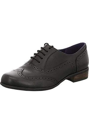 Clarks Damen Hamble Oak Derby, (Black Leather)