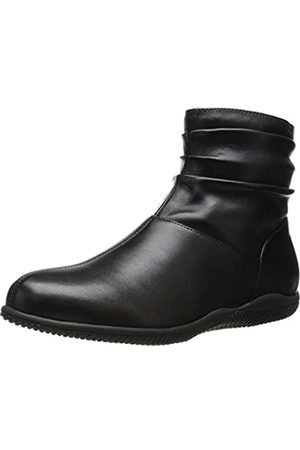 SOFTWALK Women's Hanover Boot,Black