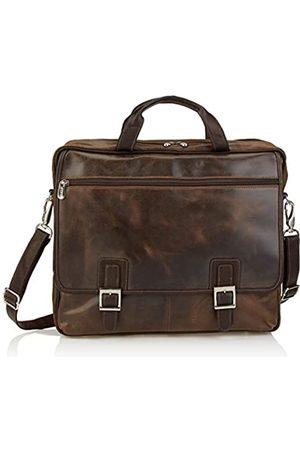 Piel Piel Vintage Business Case Leder (Braun) - 2973-BRN