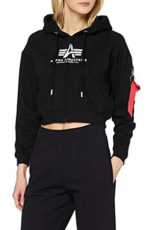 Alpha Industries Damen Sweatshirts - Damen Basic Boxy Zip Hoody Wmn Sweatshirt