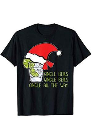 Ein Leben ohne Gin ist möglich aber ginlos Gingle Bells Pullover Weihnachtspulli Weihnachtspullover Gin T-Shirt