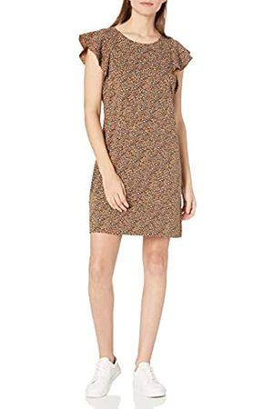 Goodthreads Kleid aus schwerem Baumwollstoff mit Rüschenärmeln Dresses L