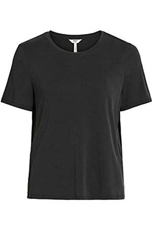 Object Damen Objannie S/S T-shirt Noos T Shirt, Black