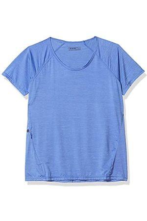 Hi-Tec Damen Bowman Gloss Melange Short Sleeve Scoop T-Shirt - Schwarz - X-Groß
