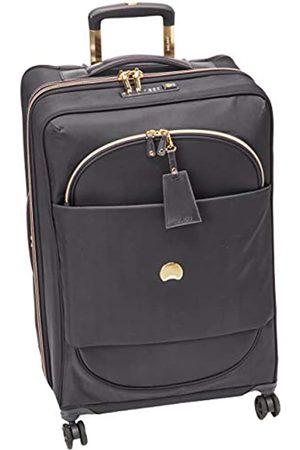 Delsey DELSEY Paris Montrouge Erweiterbarer Koffer Trolley 68cm slim, TSA Schloss, 4 Doppelrollen, 69 cm