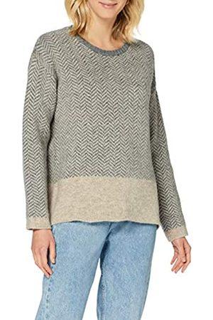 Herrlicher Damen Strickpullover - Damen Betina Wool Herringbone Pullover