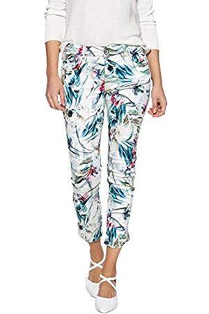 ATT ATT Jeans Damen 7/8 Hose Mit Floralem Druck Und Verzierten Eingriffstaschen Slim Fit Leoni