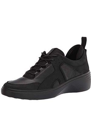 Ecco Damen Soft 7 Wedge City Sneaker, / Yak Nubuck