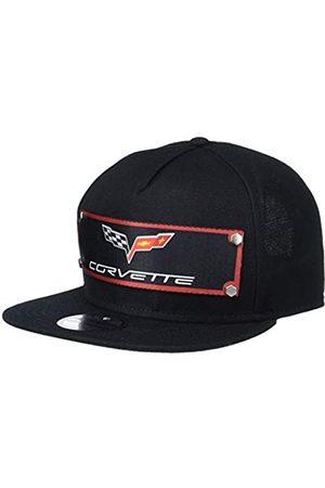 Buckle-Down Herren Snapback Hat - C6 Corvette Logo Red/Black/Gray/White Mütze