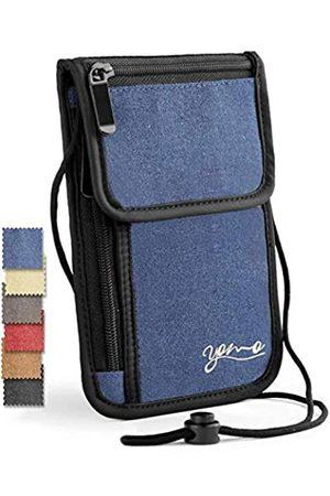 YOMO Reisepasshülle von YOMO. RFID-Sicher. Die klassische Reisebrieftasche mit Hals.