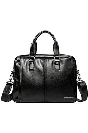 Hebetag Leder Business Kuriertasche Schultertasche für Männer Reise Outdoor Crossbody Handtaschen Aktentasche Brieftasche Handytasche Geldbörse Casual Daypack