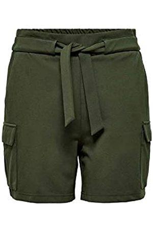 Only ONLY Womens ONLPOPTRASH Cargo Belt PNT Shorts