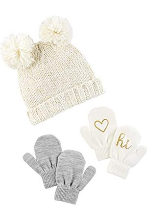 Simple Joys by Carter's Hat Hat and Mitten Set Cold Weather Hat Hat
