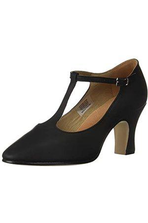 "Bloch Women's Chord T-Bar Strap 3"" Dance Shoe, Black"