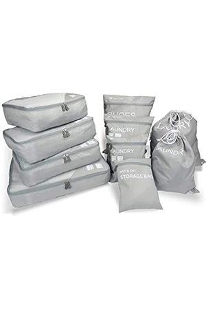 Magigo Magigozzkx 10 Set Gepäck-Organizer für Reisen mit Packwürfeln, schmutzige Wäschebeutel