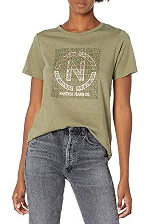 Nautica Damen Women's Soft Cotton Graphic T-Shirt
