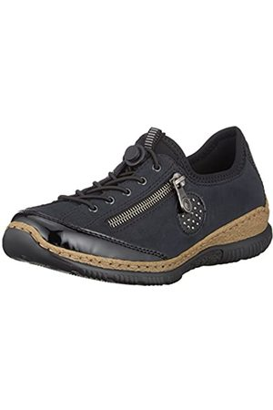 Rieker Damen N3268 Slip On Sneaker, ( /Pazifik/Baltik/ 01)