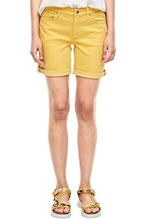 s.Oliver S.Oliver Damen Slim Fit: Coloured Denim-Shorts 36