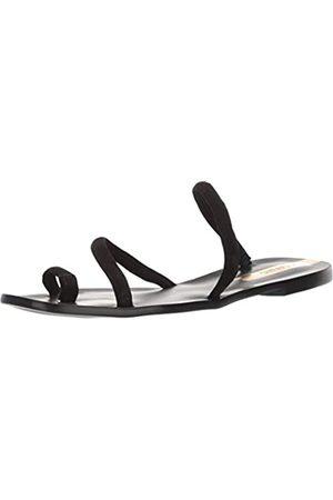 KAANAS Damen Salvador Suede Flat Slide Fashion Flache Sandale