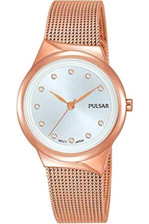 Pulsar PulsarQuarzDamen-UhrEdelstahlmitMetallbandPH8442X1