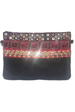 NOVAGO Novago Kosmetiktasche, Mehrzwecktasche, Tasche für Tablet iPad mit Schulterriemen und Dekoration
