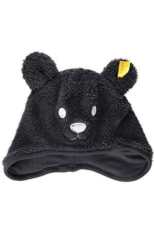 Steiff Jungen Hüte - Baby-Jungen mit süßer Teddybärapplikation Mütze, Navy