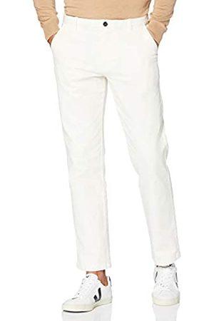 MERAKI Herren Chinos - Amazon-Marke: Herren Baumwoll Regular Fit Chino Hose, Ecru (altweiß), 38W / 32L