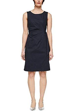 s.Oliver S.Oliver BLACK LABEL Damen Figurbetontes Kleid aus Popeline 38
