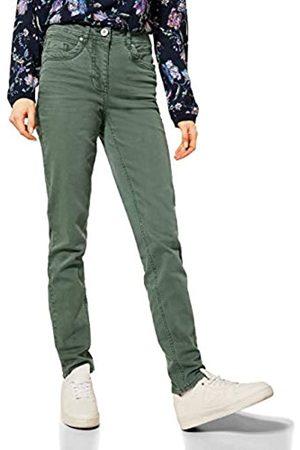 CECIL Cecil Damen 373797 Style Toronto Slim Fit High Waist Jeans