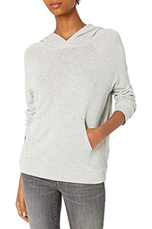 Daily Ritual Sandwashed Modal Blend Popover Hooded Sweatshirt Hemd 40-42