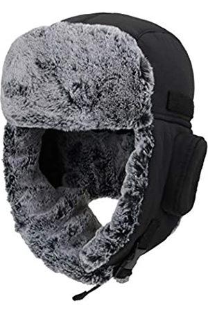 Connectyle Connectyle Warme Trappermütze für Herren Winter Russische Hüte Uschanka Jagd Hut - - Large