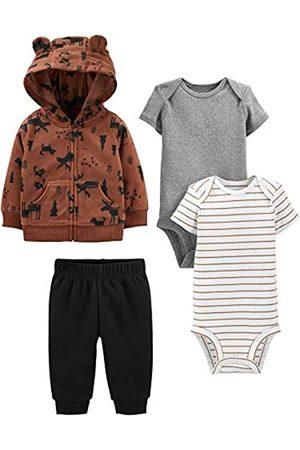 Simple Joys by Carter's Simple Joys by Carter's 4-Piece Fleece Jacket, Bodysuit infant-and-toddler-pants-clothing-sets
