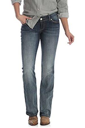Wrangler Damen High Waisted - Damen Retro Low Rise Bootcut Jeans
