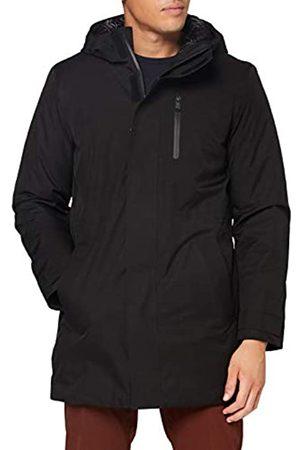 Geox Mens M CLINTFORD Rain Jacket, Black
