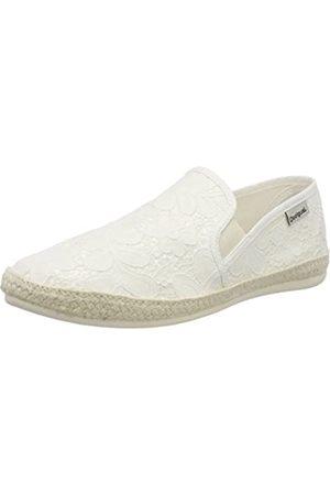 Desigual Damen Shoes_Taormina Ibiza Niedrige Hausschuhe, (1000 Blanco)