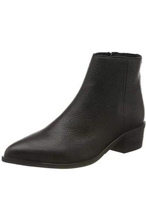 SELECTED Damen SLFELLEN Leather Boot B Stiefel, Black