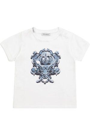 Dolce & Gabbana Kids Baby T-Shirt aus Baumwolle