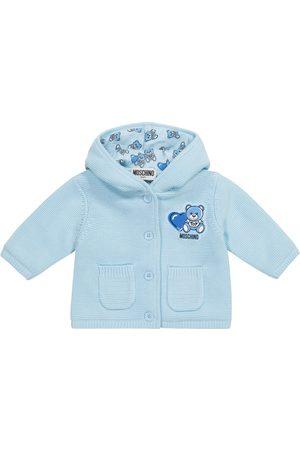 Moschino Kids Baby Strickjacken - Baby Cardigan aus Baumwolle