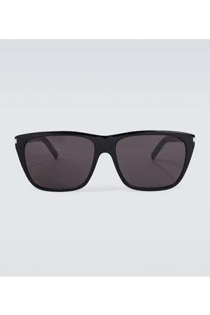 Saint Laurent Eckige Sonnenbrille aus Acetat