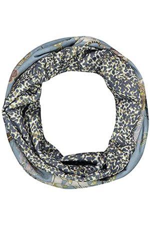 Codello Damen Loop Schal | Unisex Loop | Schlauchschal | Mundschutz | Leomuster mit Animalprint | aus 100% recyceltem Polyester