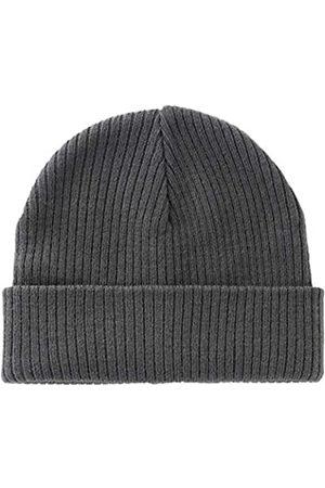Home Prefer Home Prefer Herren Winter Mütze Manschette Beanie Täglich Warm Weich Knit Skull Beanie Caps - Grau - large