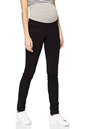 Mama Licious Damen MLALBA Jersey Pants Hose, Black