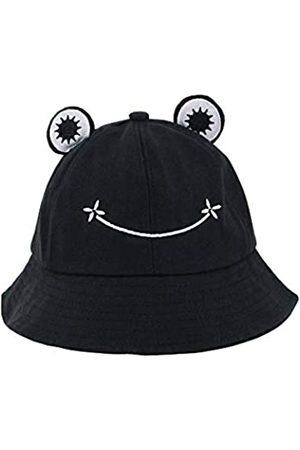 Surkat Frog Cartoon Bucket Hat Reversible Fisherman Cap Packable Sun Hat for Women Girl