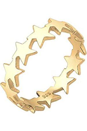 Elli Elli Ring Damen Sterne Astro Universum in 925 Sterling Silber