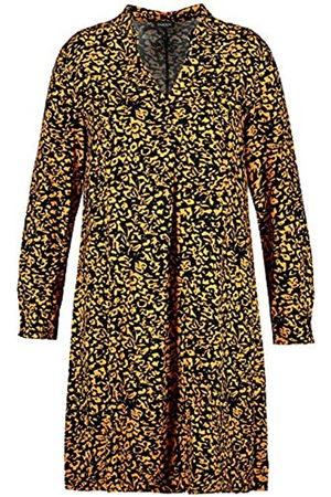 Samoon Damen Freizeitkleider - Womens Kleid Gewebe Casual Dress