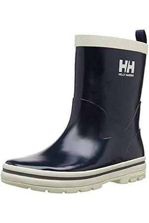 Helly Hansen Helly Hansen Jungen Unisex-Kinder Midsund 10862-597 Gummistiefel, Blau (597 Navy/Off White/Silver REFL)