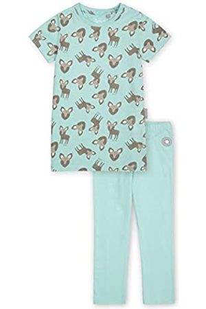 sigikid Sigikid Mädchen Mini Nightwear, 2-teiliger Pyjama aus Bio-Baumwolle für Kinder Pyjamaset