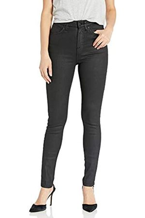 Nudie Jeans Damen Stretch - Damen Hightop Tilde Painted Black Jeans